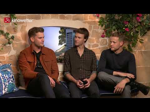 Interview Jeremy Irvine, Hugh Skinner & Josh Dylan MAMMA MIA! HERE WE GO AGAIN