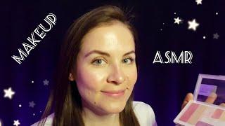АСМР Макияж Естественный И Нежный Ролевая Игра Шепот Мурашки ASMR Makeup Natural And Delicate
