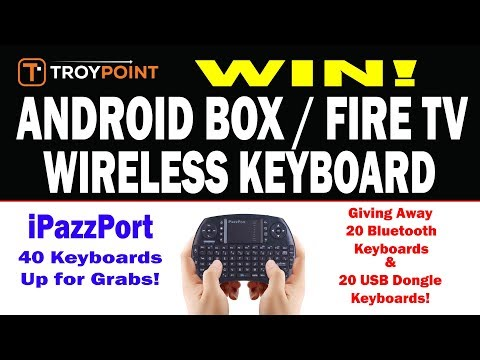 Best Wireless Keyboard/Remote For Android Box