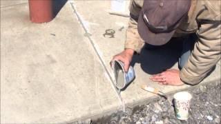 Invisible Crack Repair?  Fix-A-Crack™ Concrete Crack Repair