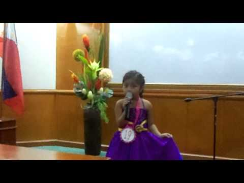 SOLO SINGING COMPETITION (PROVINCIAL CHILDREN'S CONGRESS)