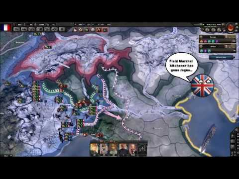 Hoi4 MP in a nutshell episode 11 (Field Marshal Kitchener)