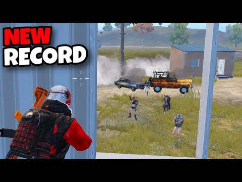 MY NEW RECORD!!!   5 SQUADS WIPES AND BEST RUSH GAMEPLAY   PUBG MOBILE