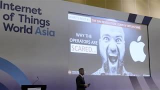 IoT World Asia Keynote, Sept 2018, Singapore