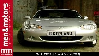 mazda MX5 Test Drive & Review (2003)