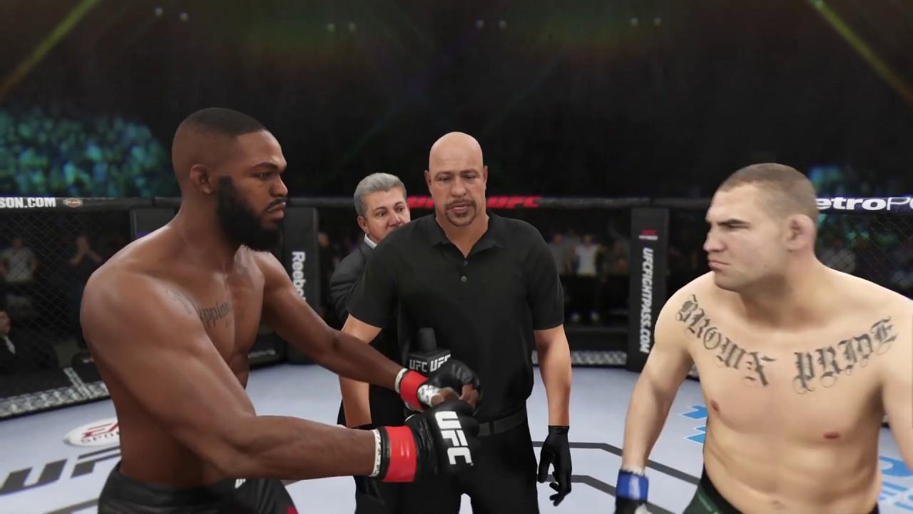 Download Jon Jones vs. Cain Velasquez (EA Sports UFC 3) - CPU vs. CPU