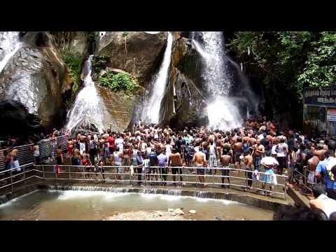 Glorious Five Falls @ Courtallam (குற்றாலம்)  Tamilnadu, Spa of South india