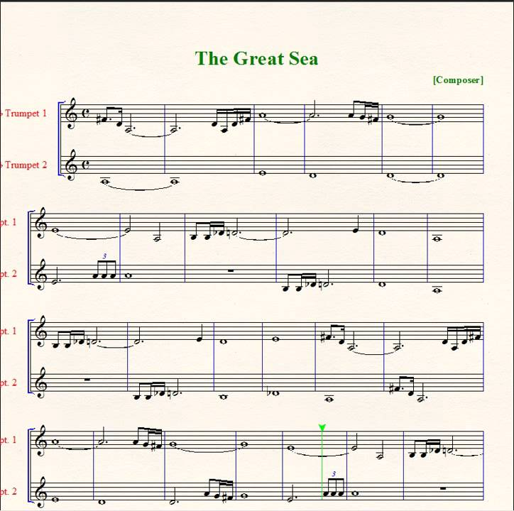 Piano piano and trumpet duet sheet music : Wind Waker: Great Sea Duet - Sheet Music - Trumpet - YouTube