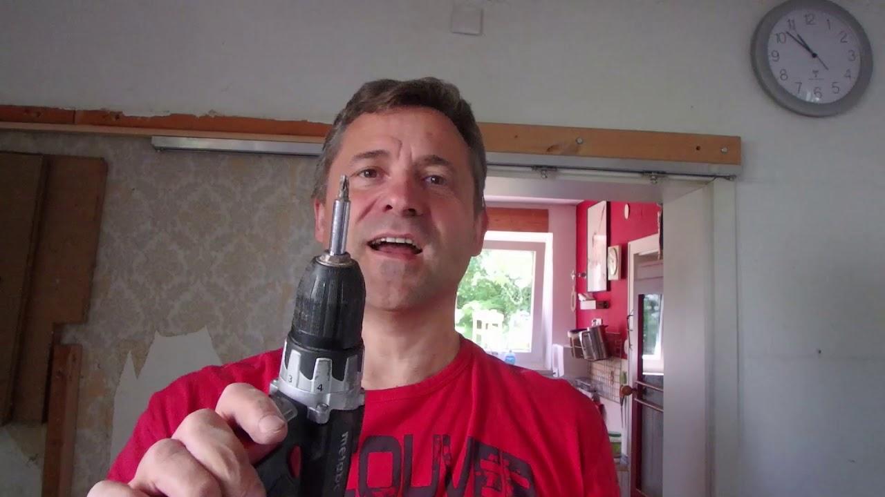 Außergewöhnliche Schiebetür ausbauen - YouTube GX75