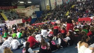 Награждение Italian cheerleading championship 2018 🏆