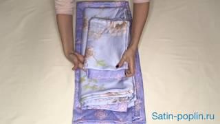 видео Постельное белье из тенселя