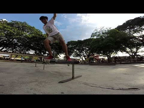 GoPro: Jaime Palaruan - Dan Ober - Pozorrubio Pangasinan, Philippines - 7.26.16 - Skate