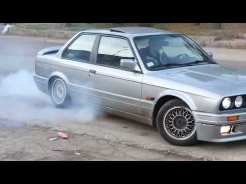 BMW E30 327i M Tech 2 Burnouts