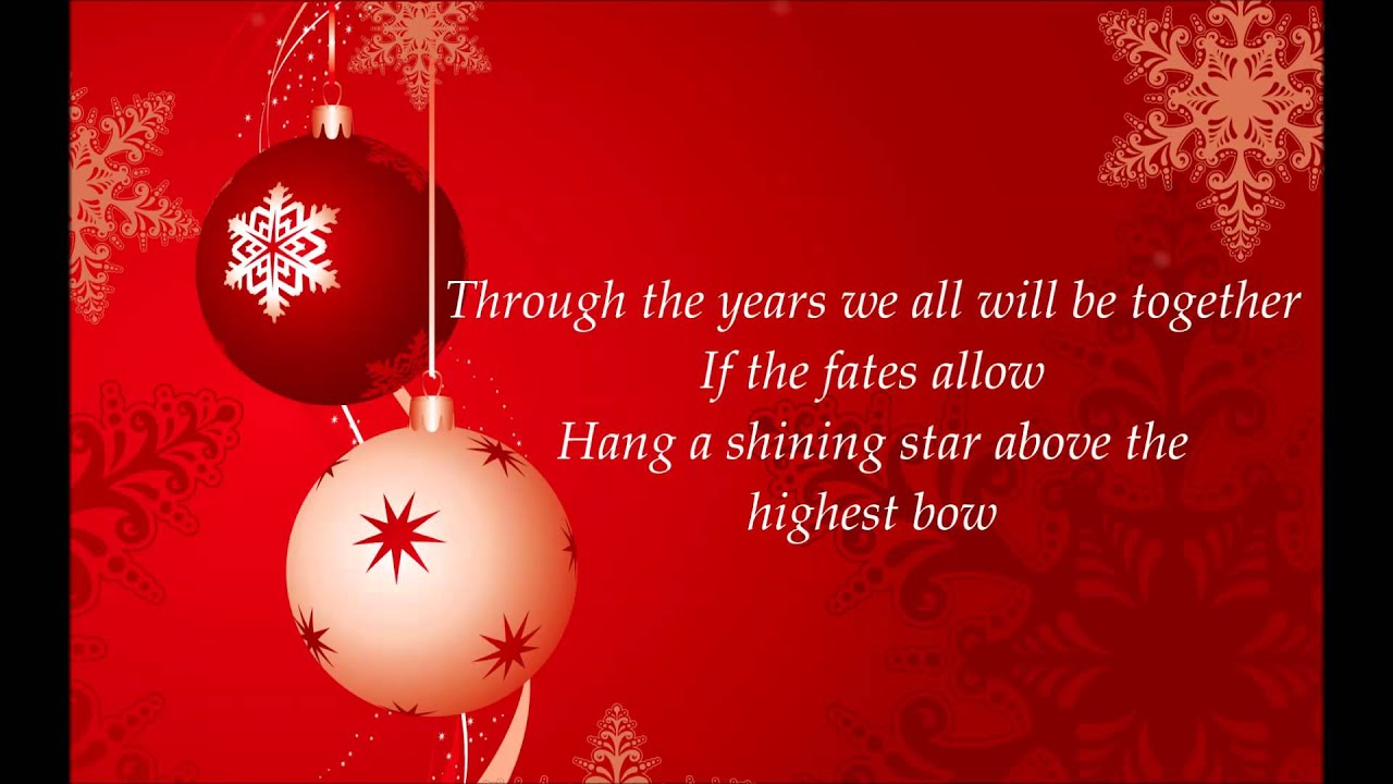 The Cheetah Girls  Have Yourself A Merry Little Christmas Lyrics Hd
