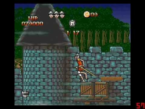Dragon's Lair Full Playthrough (SNES)