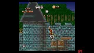 Dragon's Lair Full Playthrough (SNES)
