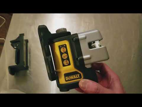 DeWalt DW089 Compact Laser Square & Level