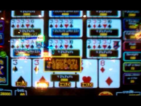 100 play video poker harrahs super times