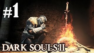DARK SOULS 2 Walkthrough - Part 1 Majula Gameplay PS3 HD