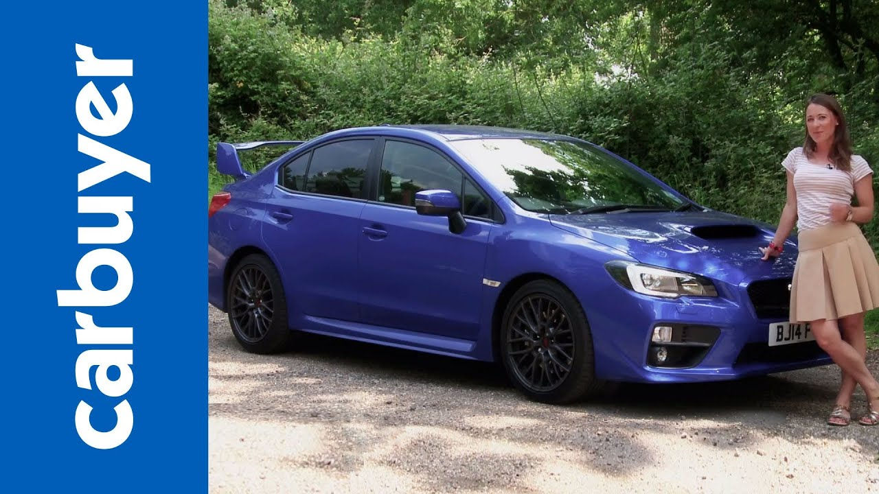Subaru Wrx Sti Saloon 2014 Review Carbuyer Youtube