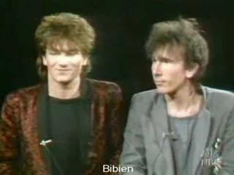 U2's first US television interview (1981)