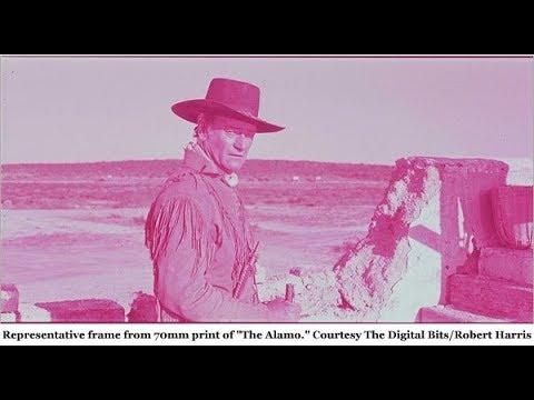 Film Corner: Film restoration and The Alamo