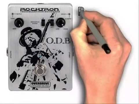 rocktron o d b overdrive dynamic blues guitar effects pedal review youtube. Black Bedroom Furniture Sets. Home Design Ideas
