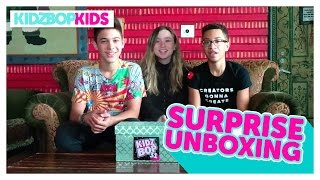 KIDZ BOP 31 Unboxing with The KIDZ BOP Kids!