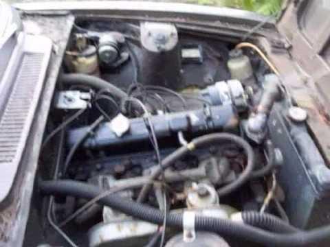 Triumph 2000 Mk2 - in need of restoration