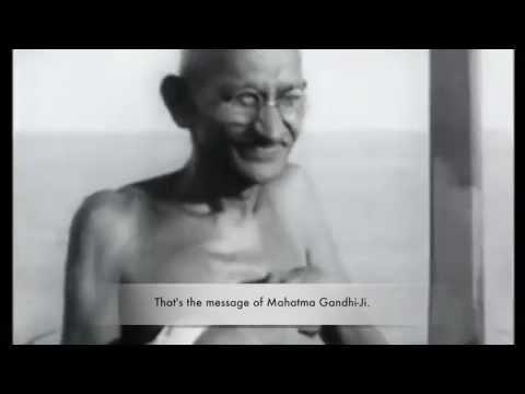 Mahatma Gandhi - Satyagraha by Angel ArunA(AS1)