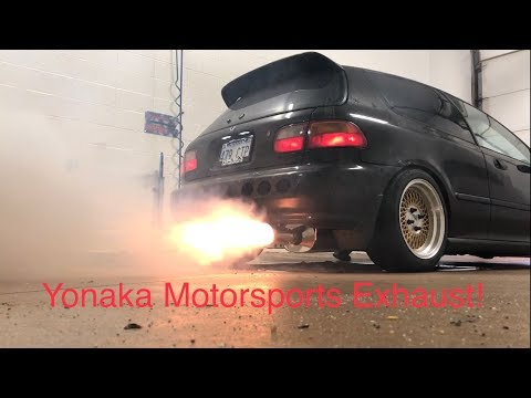 eBay vs Yonaka Civic Exhaust System