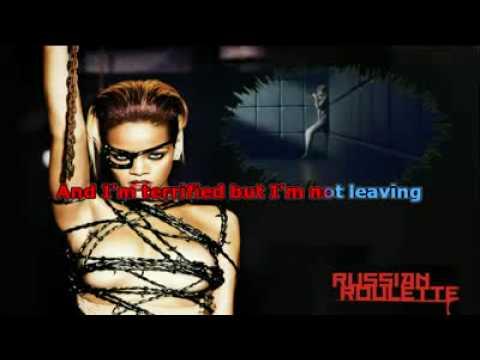 Rihanna russian roulette karaoke