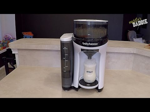 How to Use the Baby Brezza Formula Pro One Step Food Bottle Maker - Part 2 Review