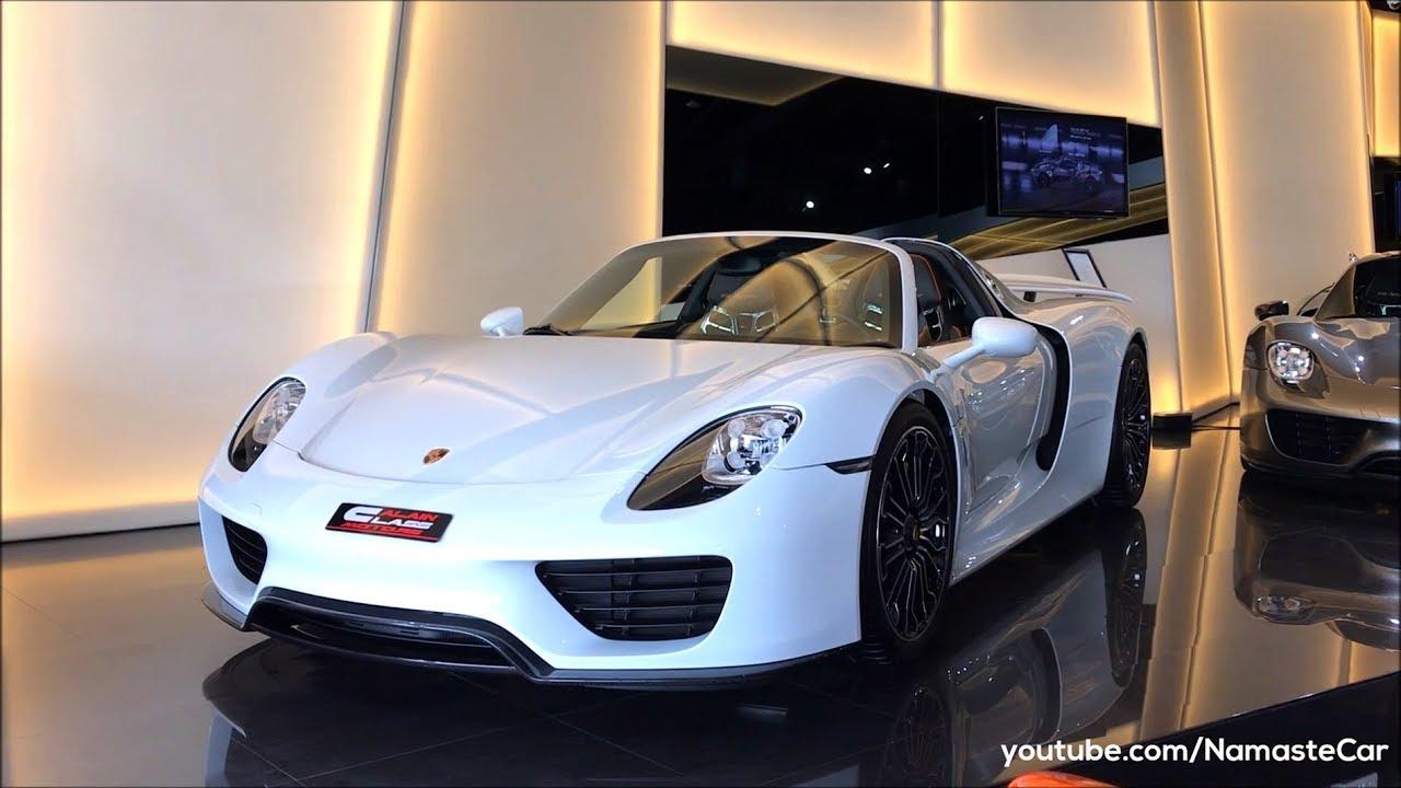 Porsche 918 Spyder E Hybrid 2018 Real Life Review