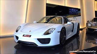 Porsche 918 Spyder e-Hybrid 2018 | Real-life review