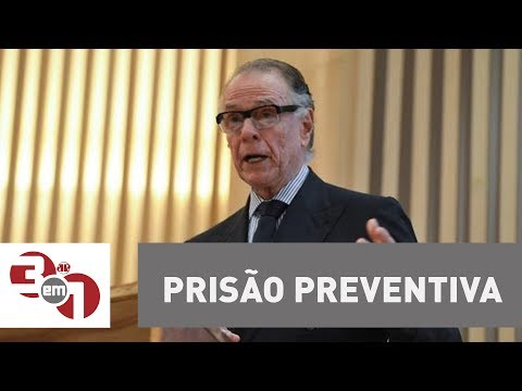 MPF Pede Prisão Preventiva Para O Presidente Do COB Carlos Arthur Nuzman