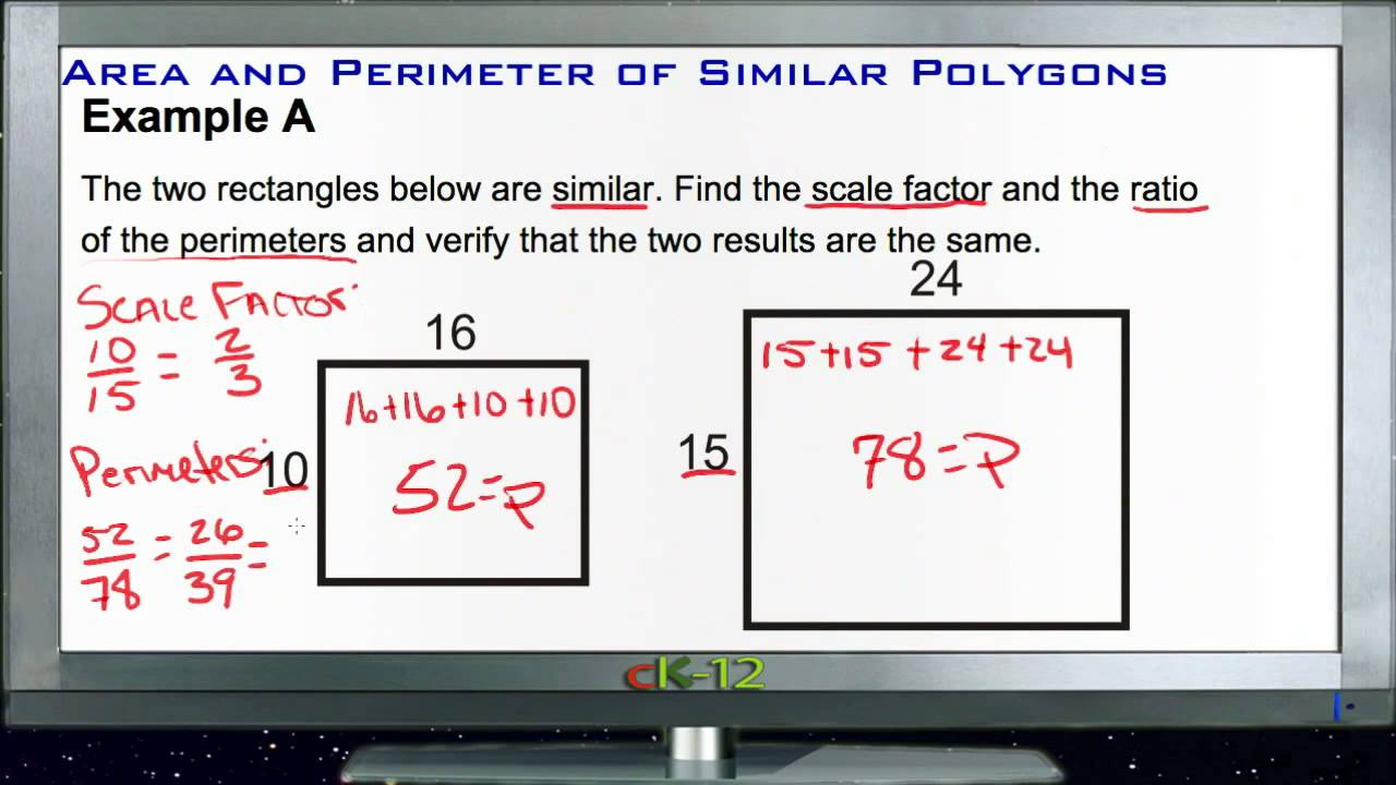 Area and perimeter of similar polygons examples basic geometry area and perimeter of similar polygons examples basic geometry concepts ccuart Images