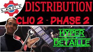 Changement distribution Clio2 phase2 en détails