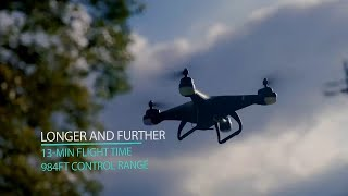 Prime Day Launch Holy Stone HS110G GPS Drone with 1080P Camera for Adults and Kids, RC Quadcopter