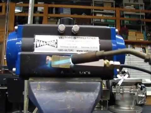 Exclusive Fusible Link Pneumatic Actuator Fire Safe