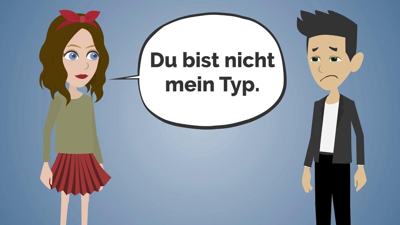 Deutsch lernen | Ich habe eine Frau aus dem Internet getroffen