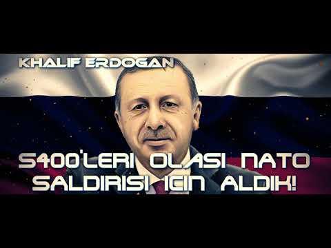 S-400'leri olası NATO Müdahalesi için aldık! Erdoğan NATO'yu artık ...