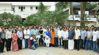 Sherlock Toms Malayalam Movie Pooja Photos | Biju Menon | Mia George