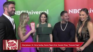 """Famously Single"" Cast @ NBC Universal's Summer Press Day | Popcorn Talk Interview"