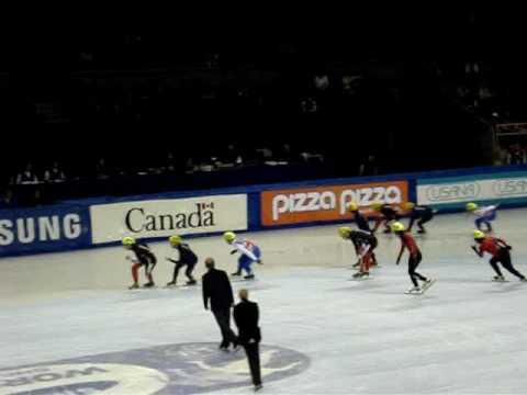 ISU Mens 5000m Relay Final A PNE 2008 Part 1