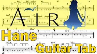 Learn How to Play Hane Fingerstyle Acoustic Guitar Lesson TABS (Air.Ost)