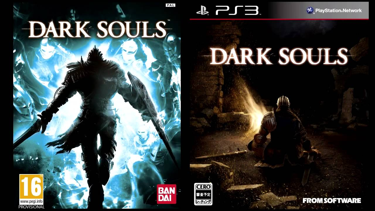 is artorias on the cover of dark souls youtube
