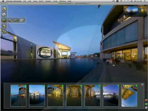 Fish-eye Lens Support And HTML Virtual Tour - Autodesk Stitcher Unlimited