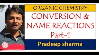 Organic conversion and name reaction part -1 ,class-12 , happy examination