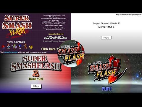 EVOLUTION OF SUPER SMASH FLASH